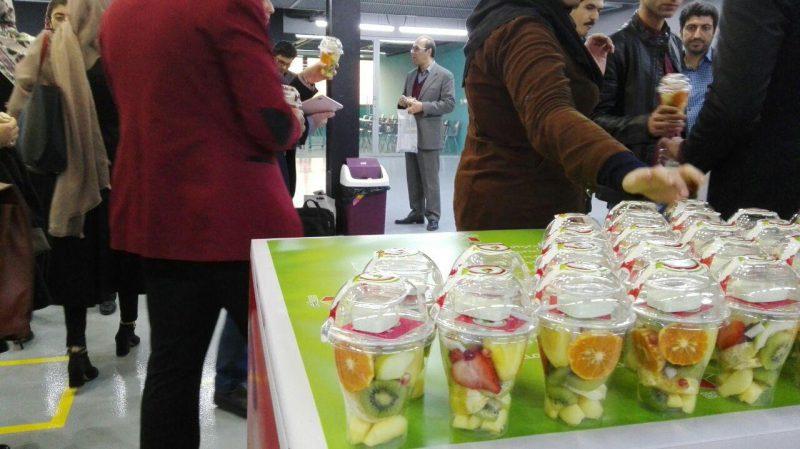 اسپانسر پذیرایی میوه جشن یکسالگی تیوان